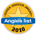 Angie's List Supper Service Award